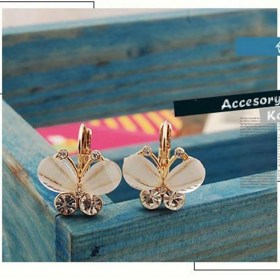Korean-Style-Fashion-Wings-Rhinestones-White-Bow-Butterf_0121
