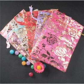 Wholesale+Gorgeous+Organza+Gift+Bags+10x15cm+Rose+G-0009-BL(5)